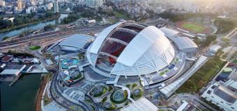 シンガポールの史上最大の開閉式ドームが構造工学最優秀賞を受賞